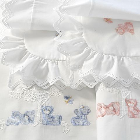Bear Sheet e Pillowcase