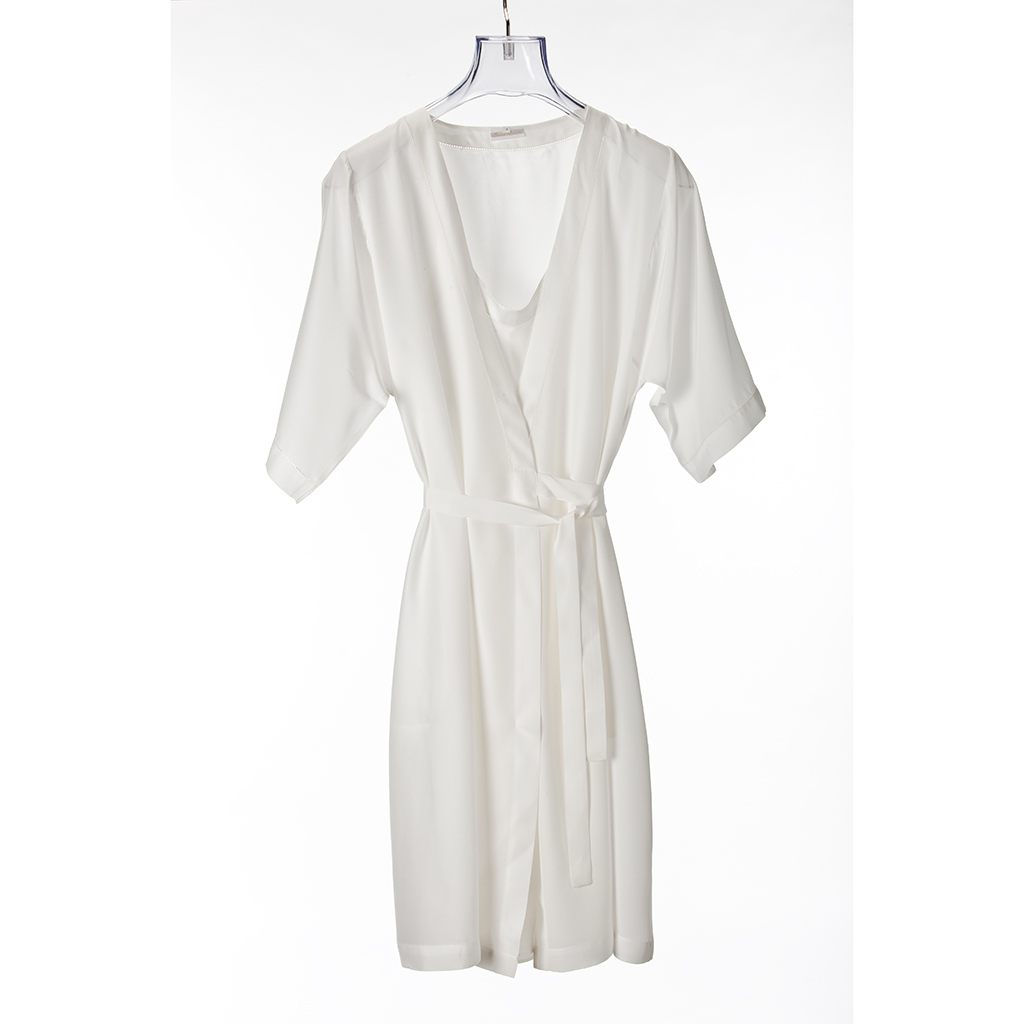 Silk Dressing Gown - Teresa Alecrim